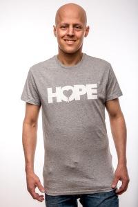 Hope T-Shirt Grey Men 24,95€