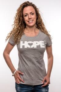 Hope T-Shirt Grey Woman 24,95€