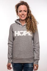Hope Hoodie Grey Woman 69,95€